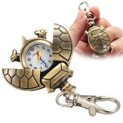 Turtle Keychain Watch