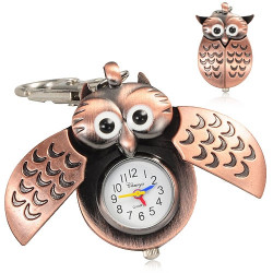 Owl Keychain Watch