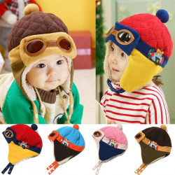 Pilot Style Hat for Kids