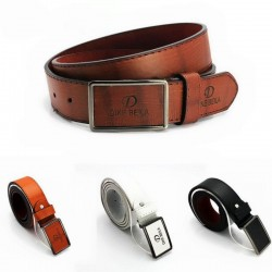Luxury Men Leather Belt