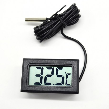 Aquarium thermometer aquarium thermometer lcd digital for Aquarium thermometer