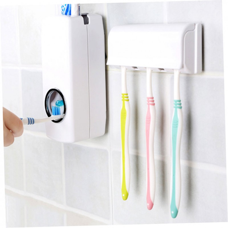 Automatic Toothpaste Dispenser - One Touch Automatic...