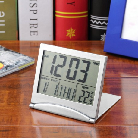 Digital LCD Alarm Clock
