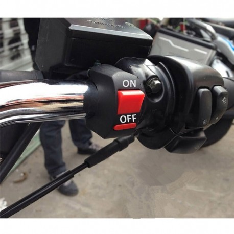 Motorcycle Handlebar ON-OFF Button Switch