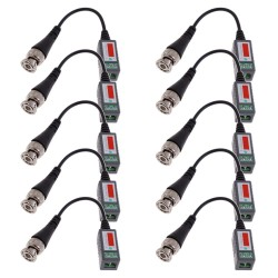 Passive Video Balun BNC Transceiver-Kabel