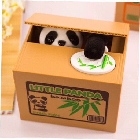Electric Coin Money Box LITTLE PANDA