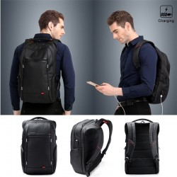 Kingsons Wasserdichter Notebook Rucksack