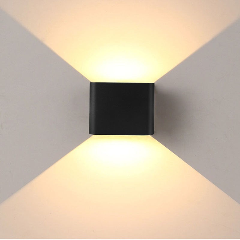 Wall Pictures Light Up : 12 LED Double Wall Light Up Down - Modern 6W 12 LED...