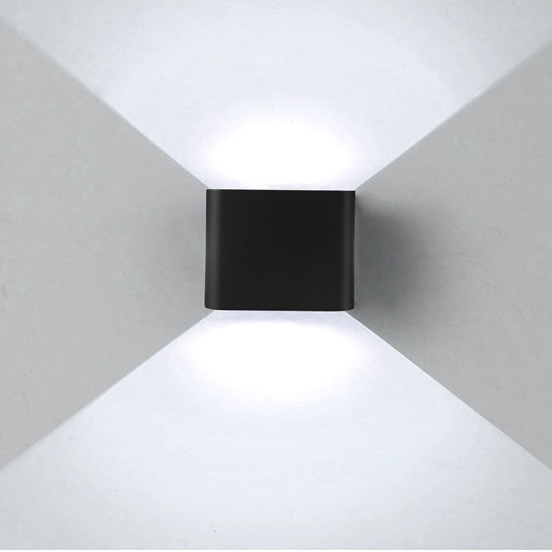 12 Led Double Wall Light Up Down Modern 6w 12 Led