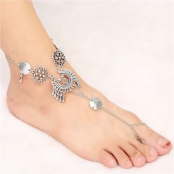 Foot Jewelery with Toe Ring