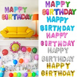 Colorful HAPPY BIRTHDAY Foil Balloons