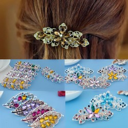 Fashion Kristall-Strass Haarspange
