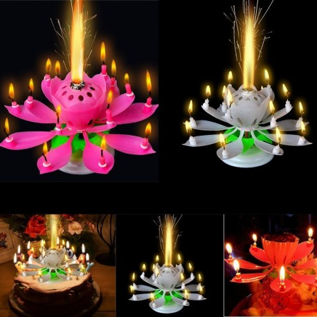 Magical Flower - Birthday Musical Candle