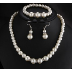 Elegentes Beaded Jewelry Set