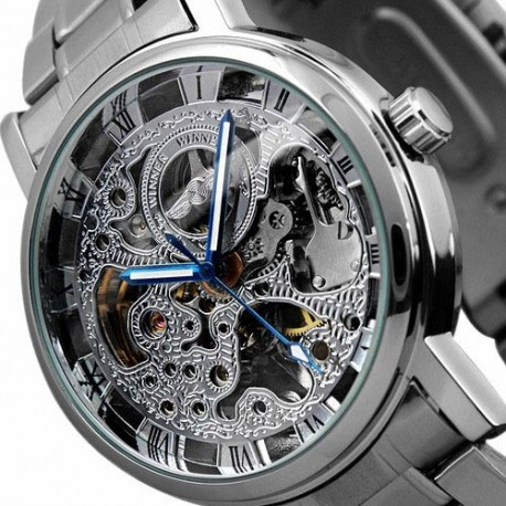 Winner Skeleton Uhr