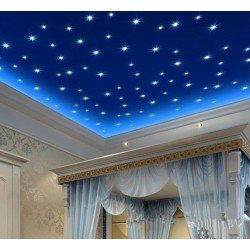100pcs Stars Wall Stickers