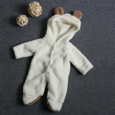 Baby Romper - Hooded Jumpsuit