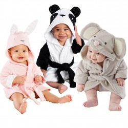 Cute Animal Bathrobe for Kids