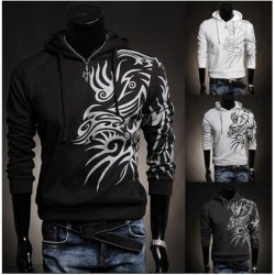 Hooded Tattoo Sweatshirt