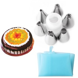 8 Pcs/Set Silicone Cake Decoration Tool