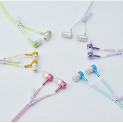 COOL Light Earphones Zipper