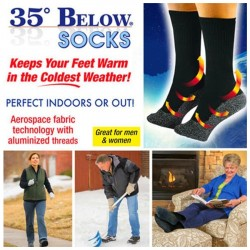 35 Below Socks Keep Your Feet Warm and Dry