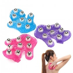 Roller Ball Massage Handschuh