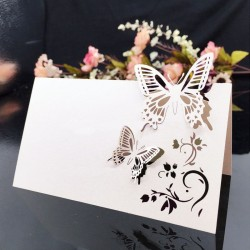 Laser Cut Place Cards Sets
