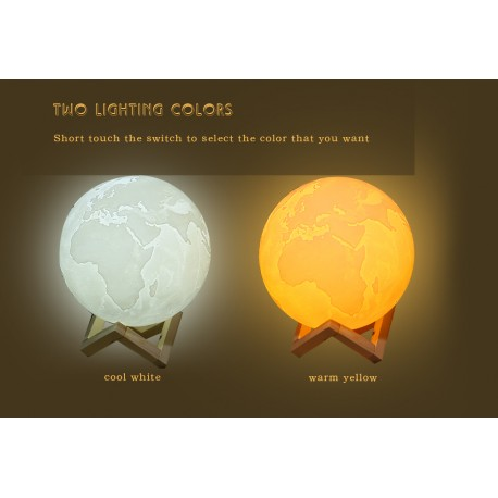 3D Earth Lamp