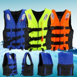 Children and adults ISO lifejacket 10-110 Kg with whistle