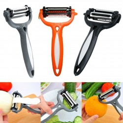 Rotary 3 in 1 Fruit & Vegetable Peeler/Cutter/Slicer