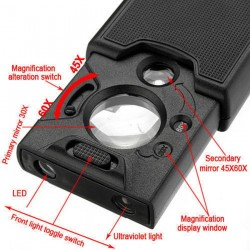 Mini LED / UV Lighted Magnifier