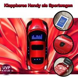 Flip Sport Car Dual Sim Unlocked Mobile Phone