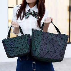 Luxury holographic laser shoulder bag Luminous