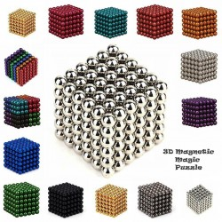 3D Magnetic Magic Puzzle