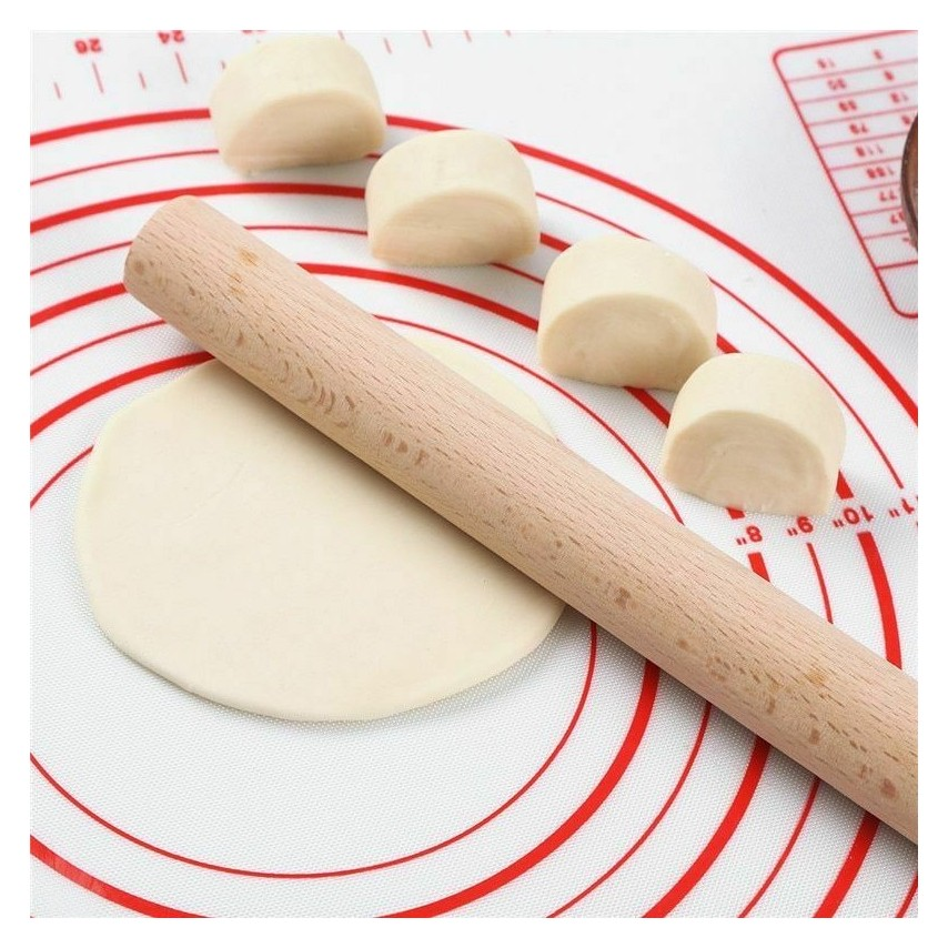 Silicone baking mat for pizza dough maker pastry