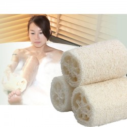 Natural Luffa/Loofah Sponge 3pcs Set