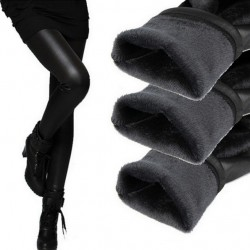 Hot!!! Fashion winter PU leather women leggings