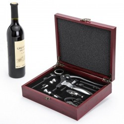 Red Wine Bottle Opener Set 9 Piece Set