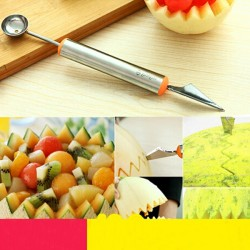 Fruit Carving Knives and Spoon