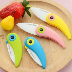 Bird Folding Mini Kitchen Ceramic Knife