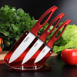 Kitchen White Blade Ceramic Knife Set