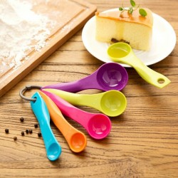 5Pcs Colorful Measuring Spoons Set Kitchen Tool