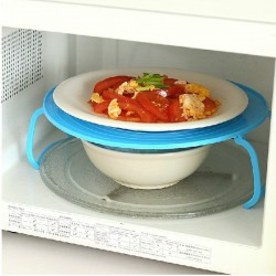Microwave Oven Double Layer Steam Rack