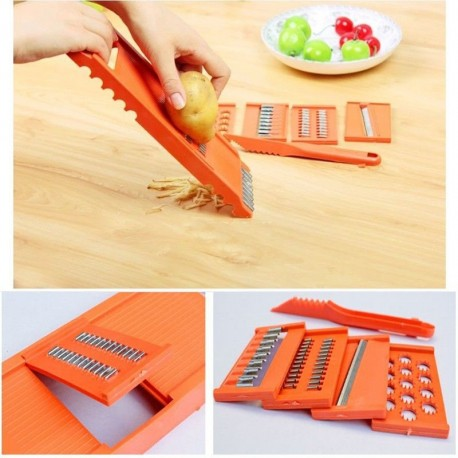 7pcs Multifunctional Vegetable Shredder