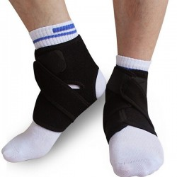 2Pcs Elastic Neoprene Ankle Protection Pads