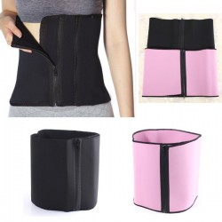 Zipper Slimming Body Shaping Corset Belt