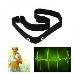 Elastic Chest Belt Strap for Sport Heart Rate Monitor