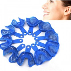 Plastic-Steel Dental Impression Trays