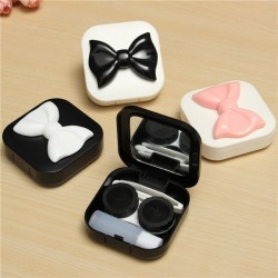 Contact Lenses Mirror Container Box